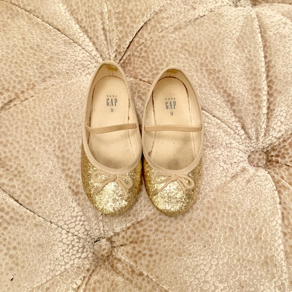 GAP Other - Baby Gap Glitter Dress Shoes